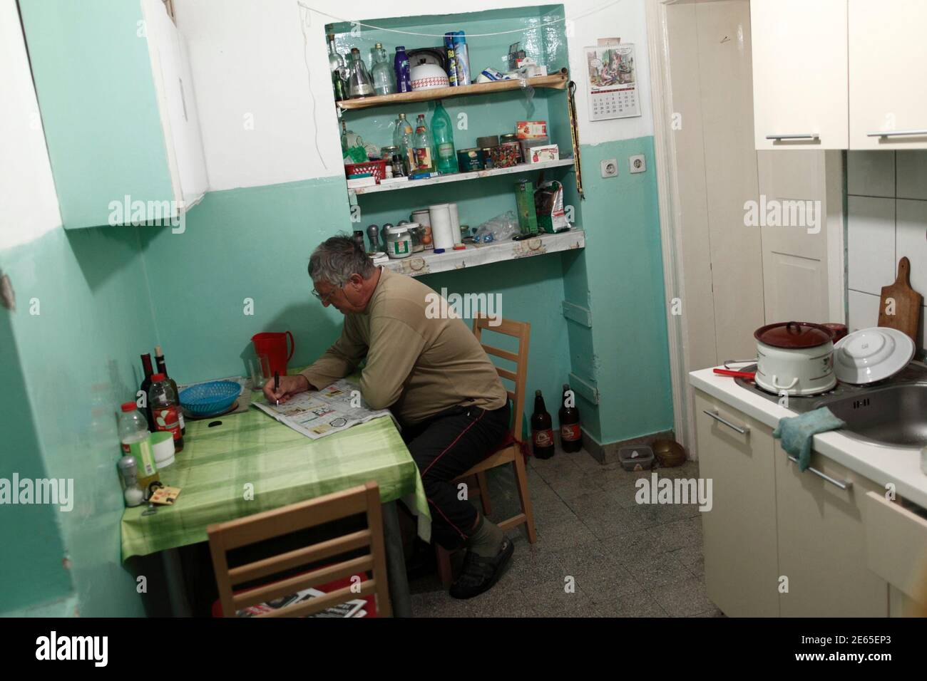 1990s Kitchen High Resolution Stock Photography And Images Alamy