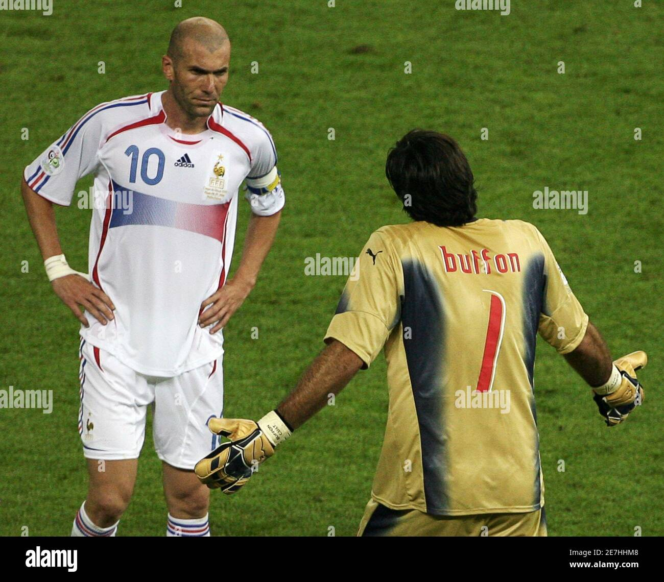 Zidane Materazzi High Resolution Stock Photography and Images - Alamy