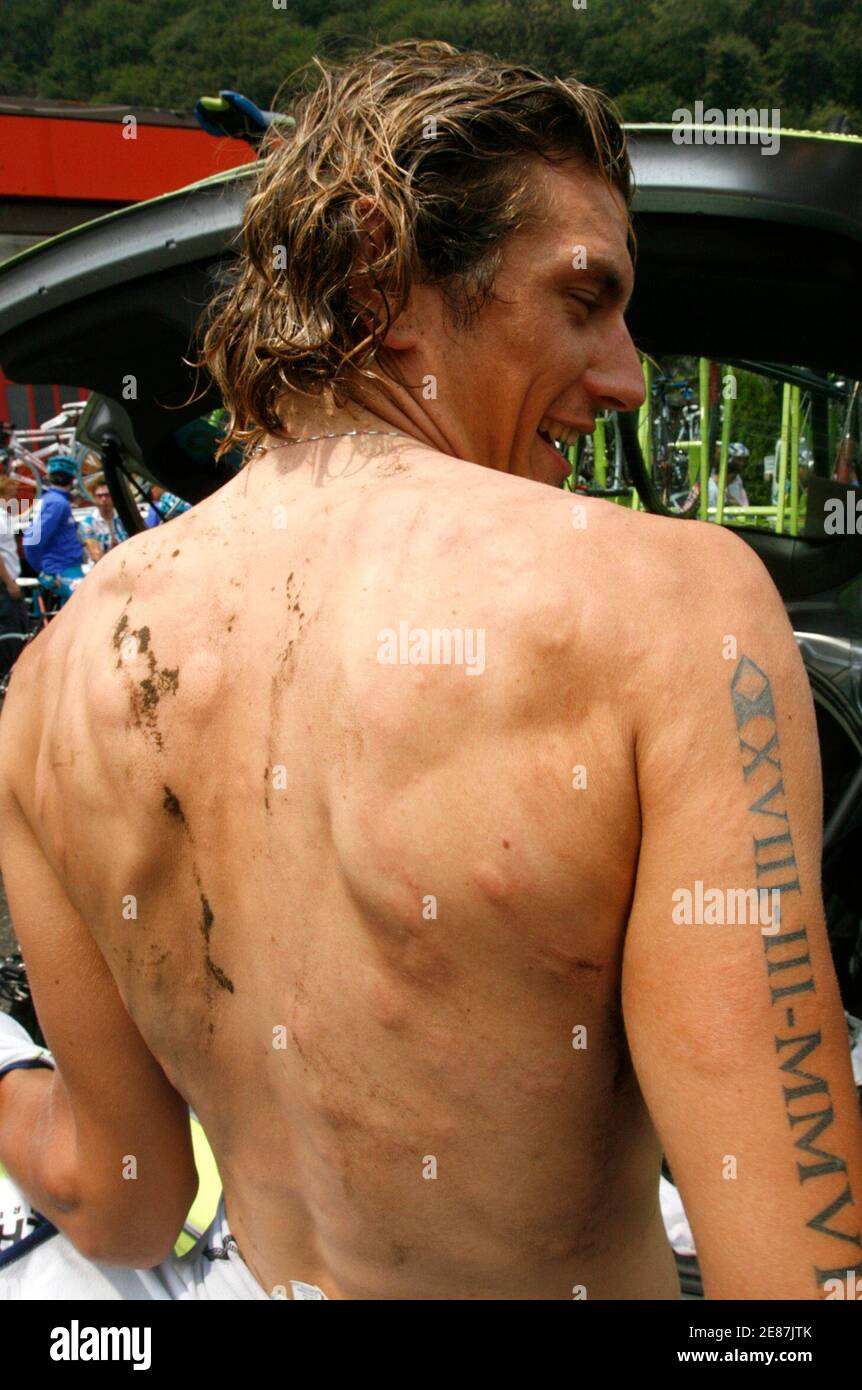 Cycling Tattoo High Resolution Stock Photography And Images Alamy