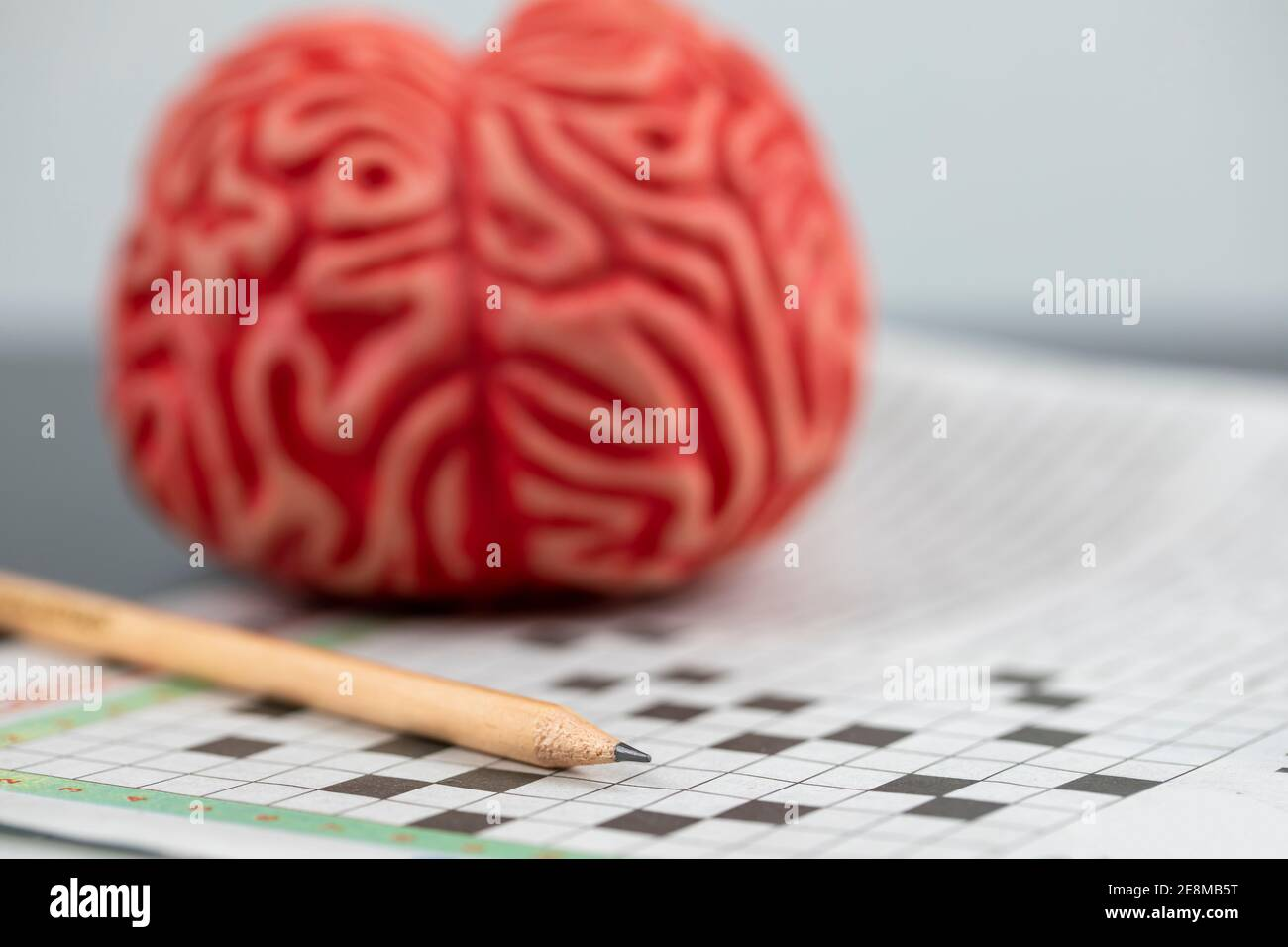 Cryptic Crossword High Resolution Stock Photography And Images Alamy