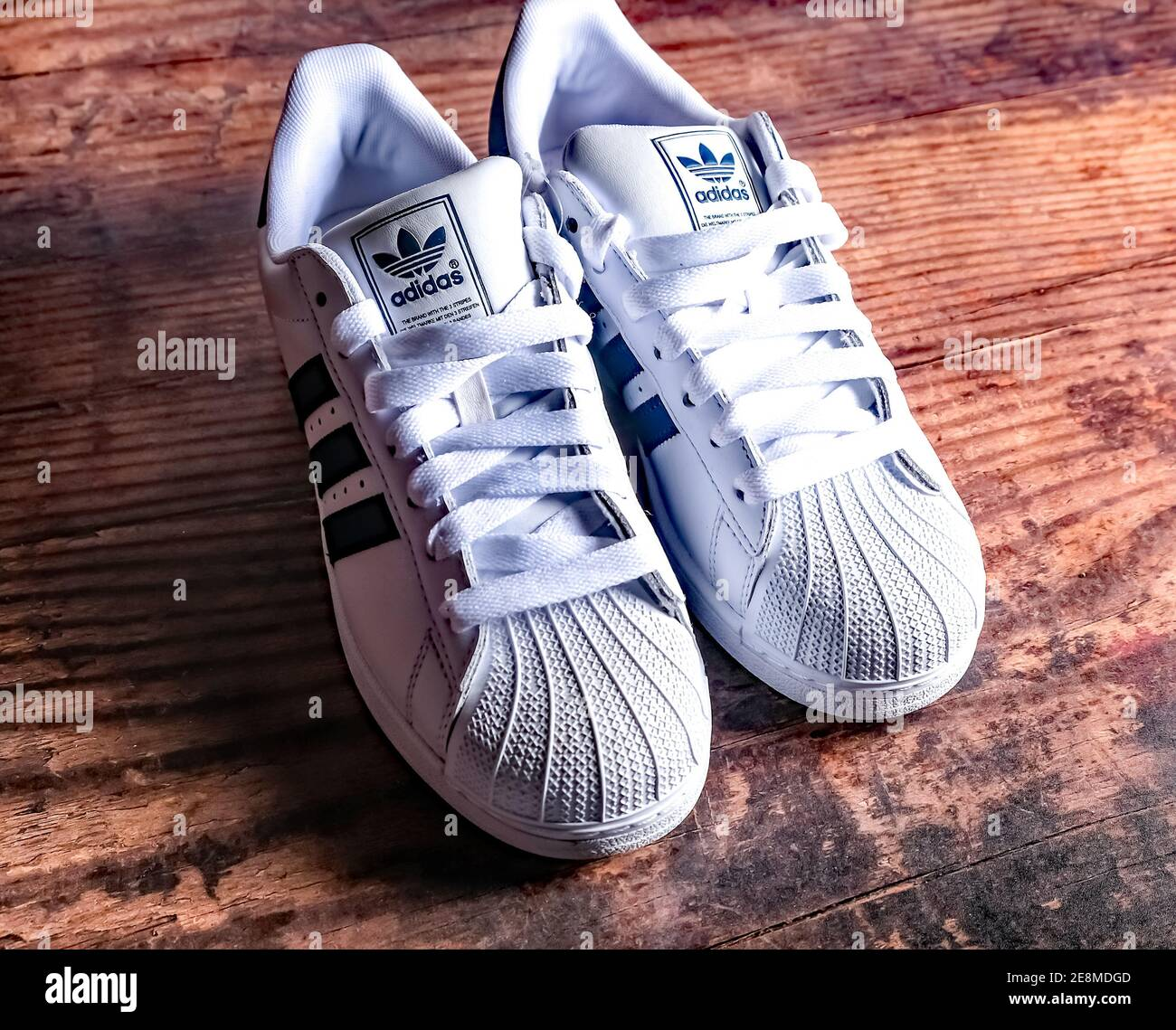 Page 2 - Adidas Trainers High Resolution Stock Photography and ...