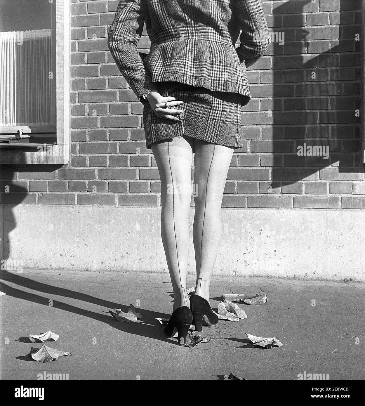 Nylon german mature 1940s French