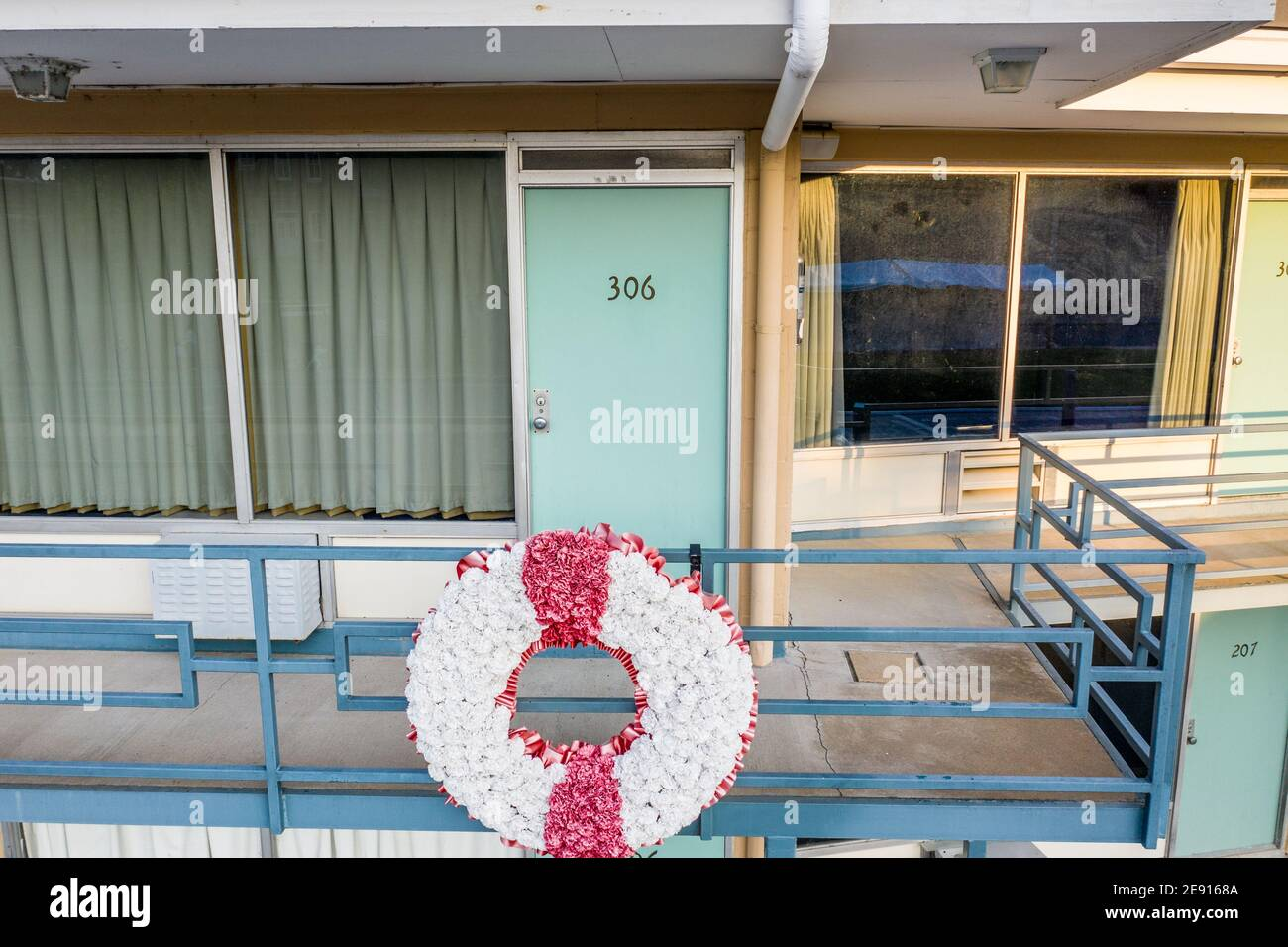 Lorraine Motel, Memphis, TN, USA Stock Photo