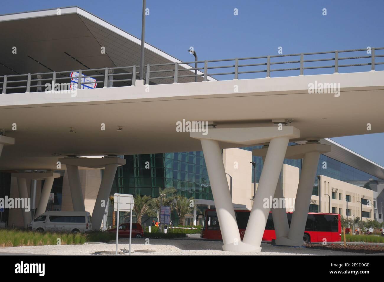 The new passenger terminal building, Bahrain International Airport, Muharraq, Kingdom of Bahrain Stock Photo
