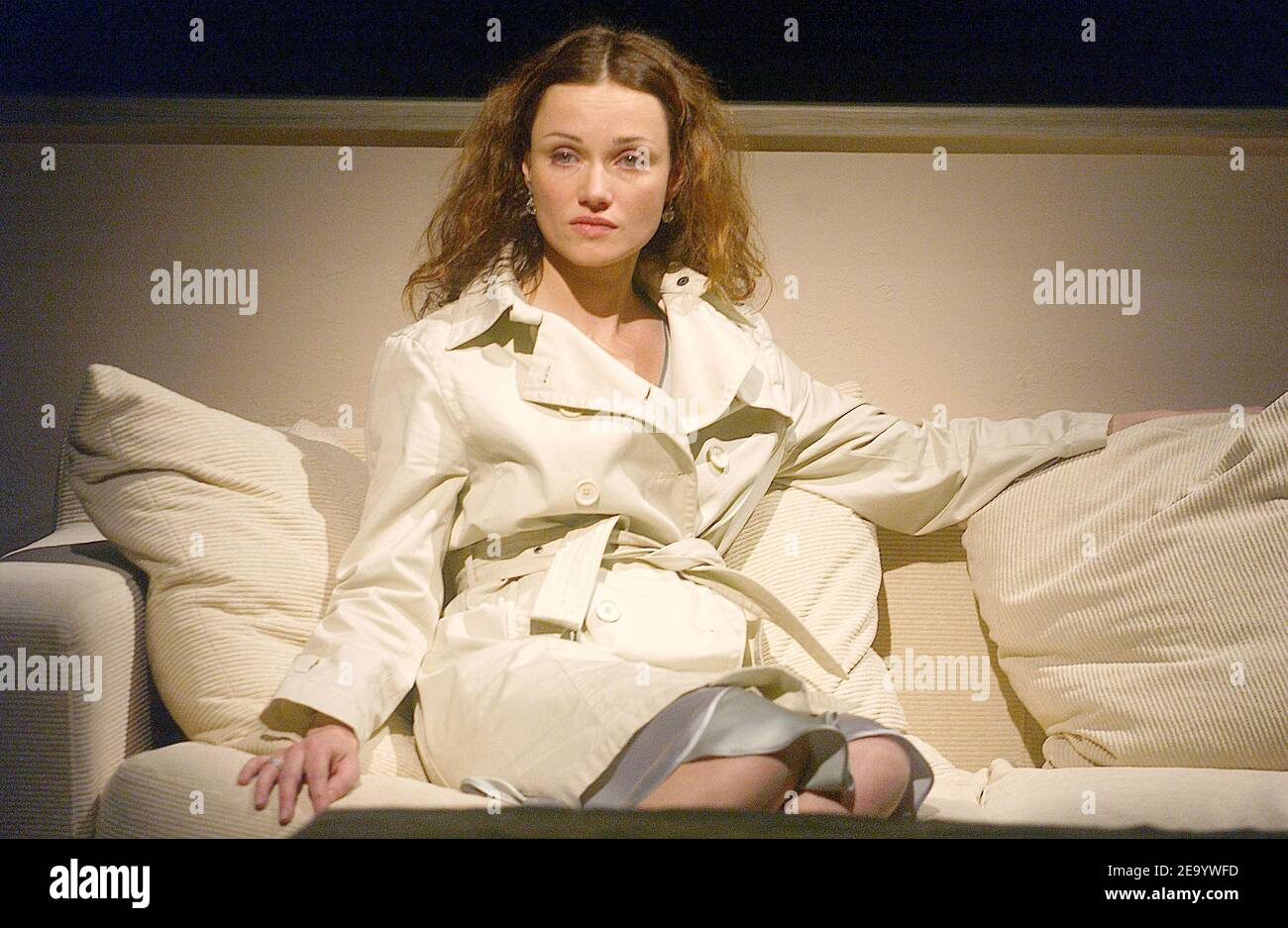 Marine Delterme performs in the play 'Le Manege' at Petit Theatre Montparnasse in Paris, France, on January 25, 2005. Photo by Giancarlo Gorassini/ABACA. Stock Photo