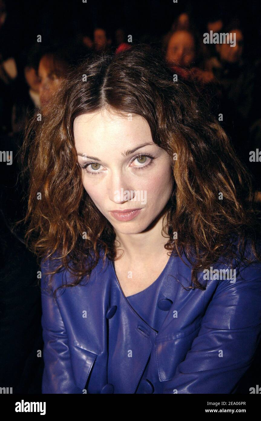 French actress Marine Delterme attends the presentation of French fashion house Celine's Fall/Winter 2005/2006 ready-to-wear collection in Paris, France, on March 3, 2005. Photo by Klein-Hounsfield/ABACA Stock Photo