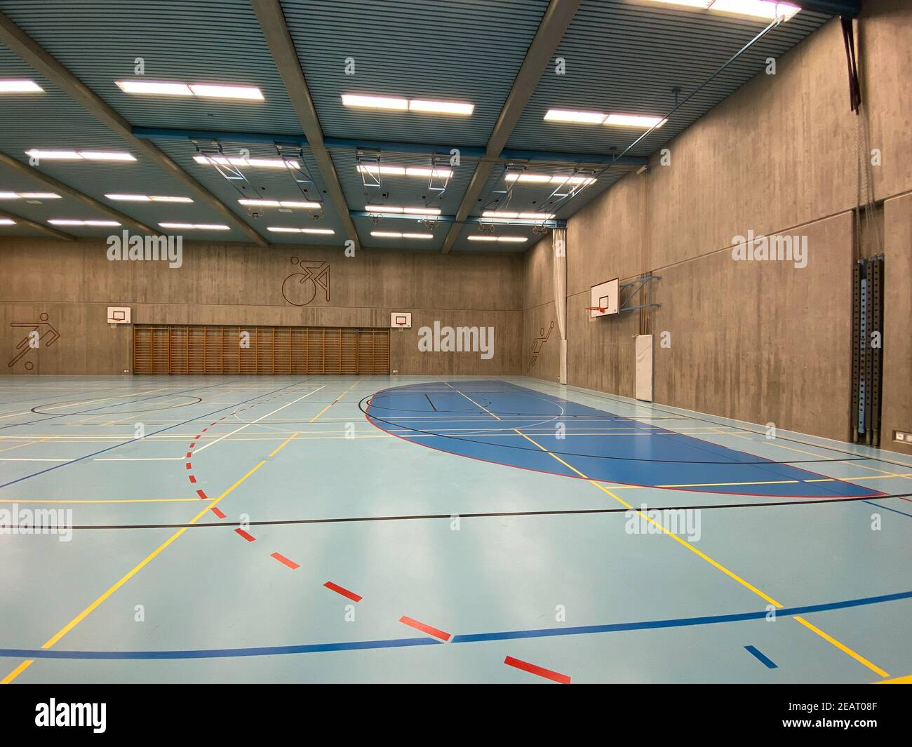 Indoor Courts High Resolution Stock Photography And Images Alamy