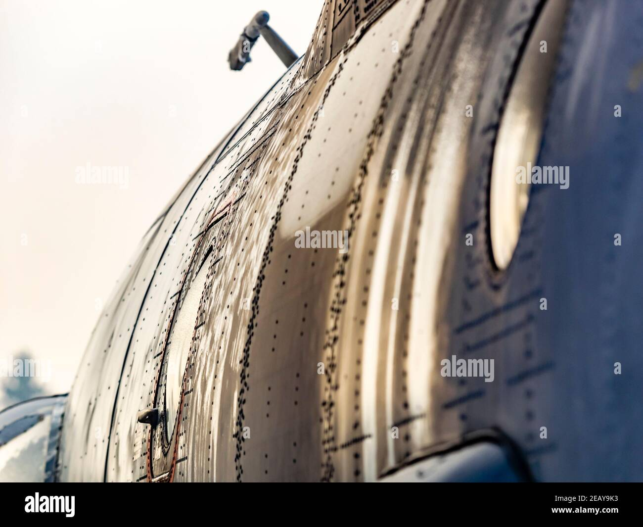 Croatian An-32b aircraft in Pleso Air Base Stock Photo