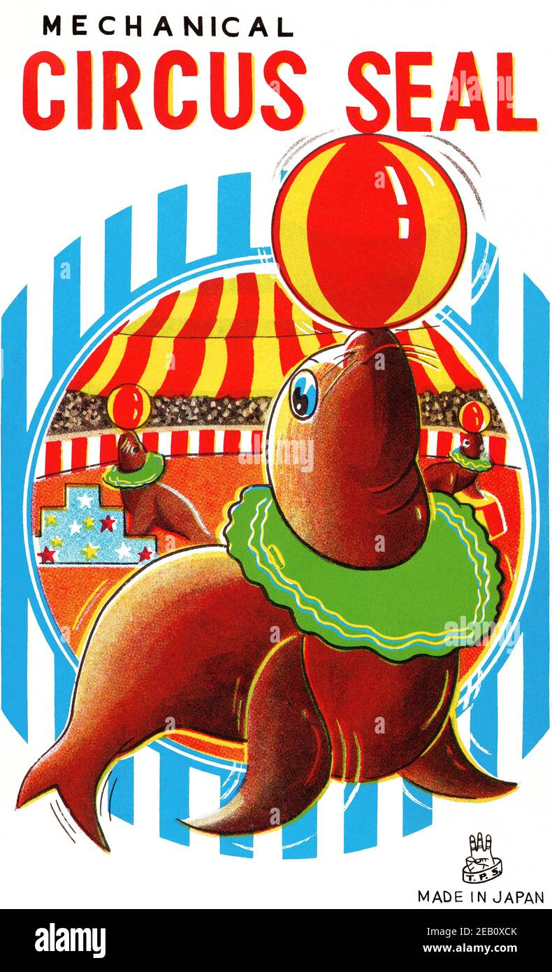 Vintage Circus Graphics High Resolution Stock Photography and ...