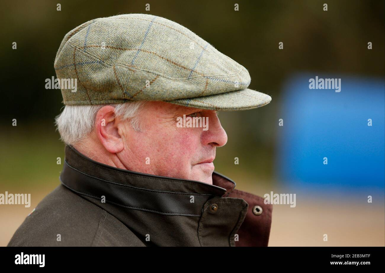 Britain Horse Racing - Colin Tizzard Stable Visit - Cheltenham Festival Preview - Spurles Farm, Milborne Port, Dorset - 23/2/17 Trainer Colin Tizzard during the stable visit Action Images via Reuters / Matthew Childs Livepic EDITORIAL USE ONLY. Stock Photo