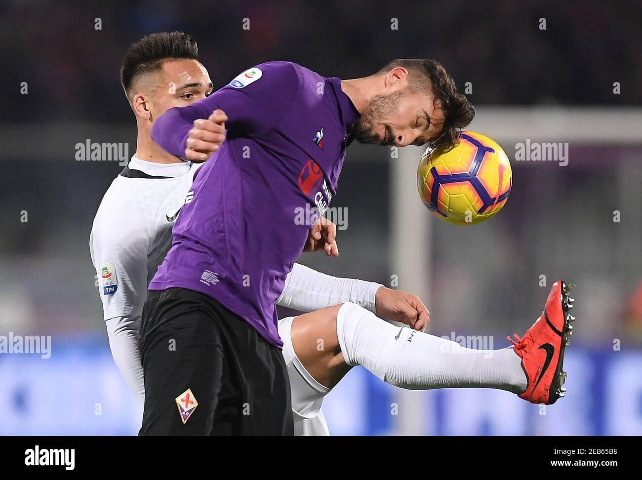 Federico Ceccherini Fiorentina High Resolution Stock Photography ...