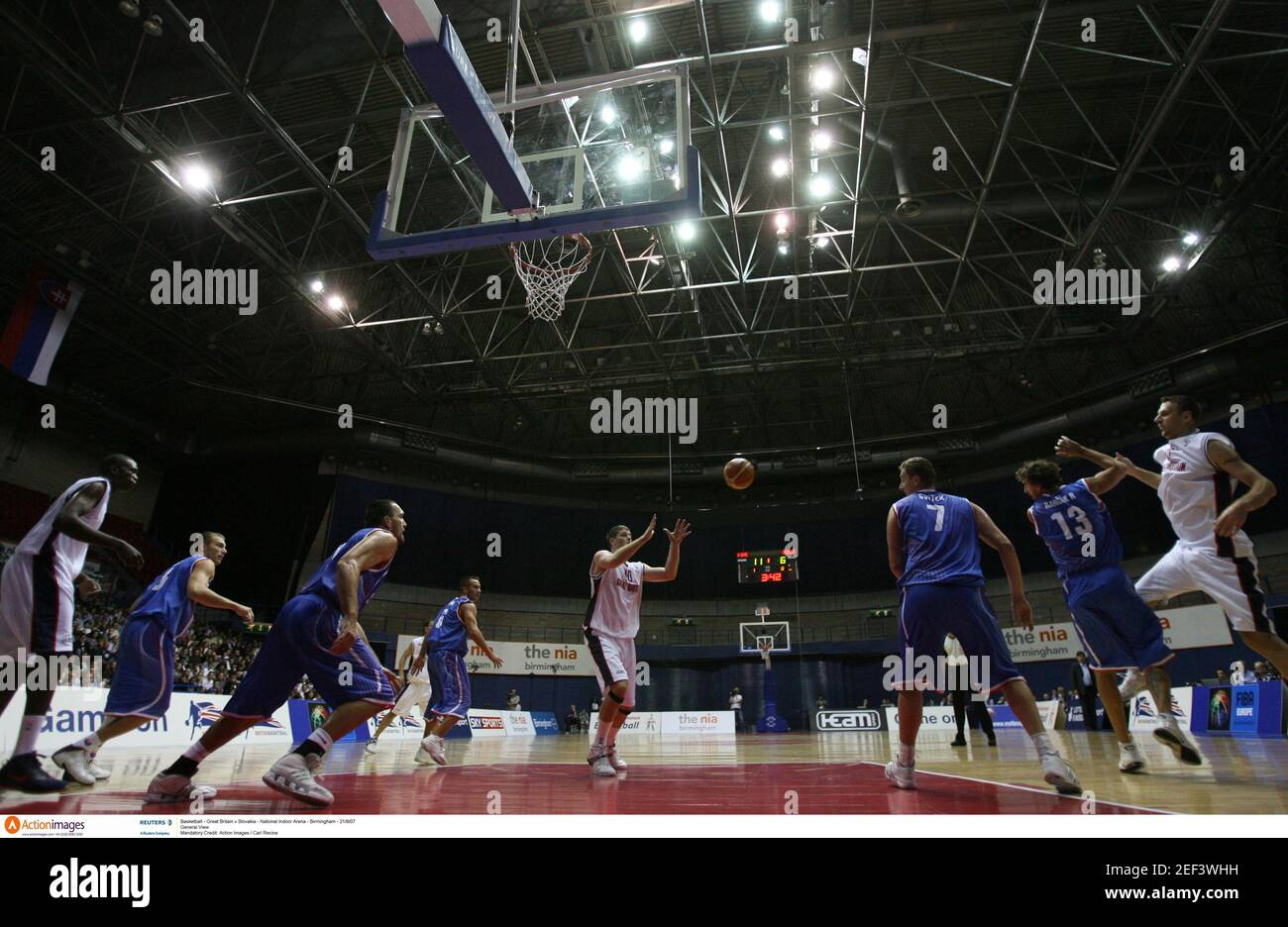 Basketball Arena Indoor High Resolution Stock Photography And Images Alamy