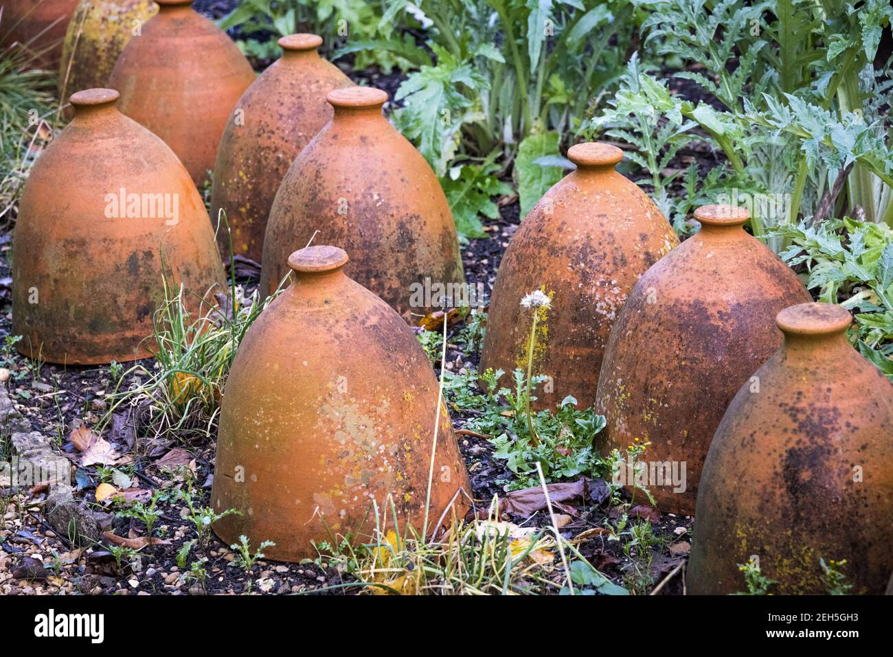 Clay Pots Upside Down High Resolution Stock Photography And Images Alamy