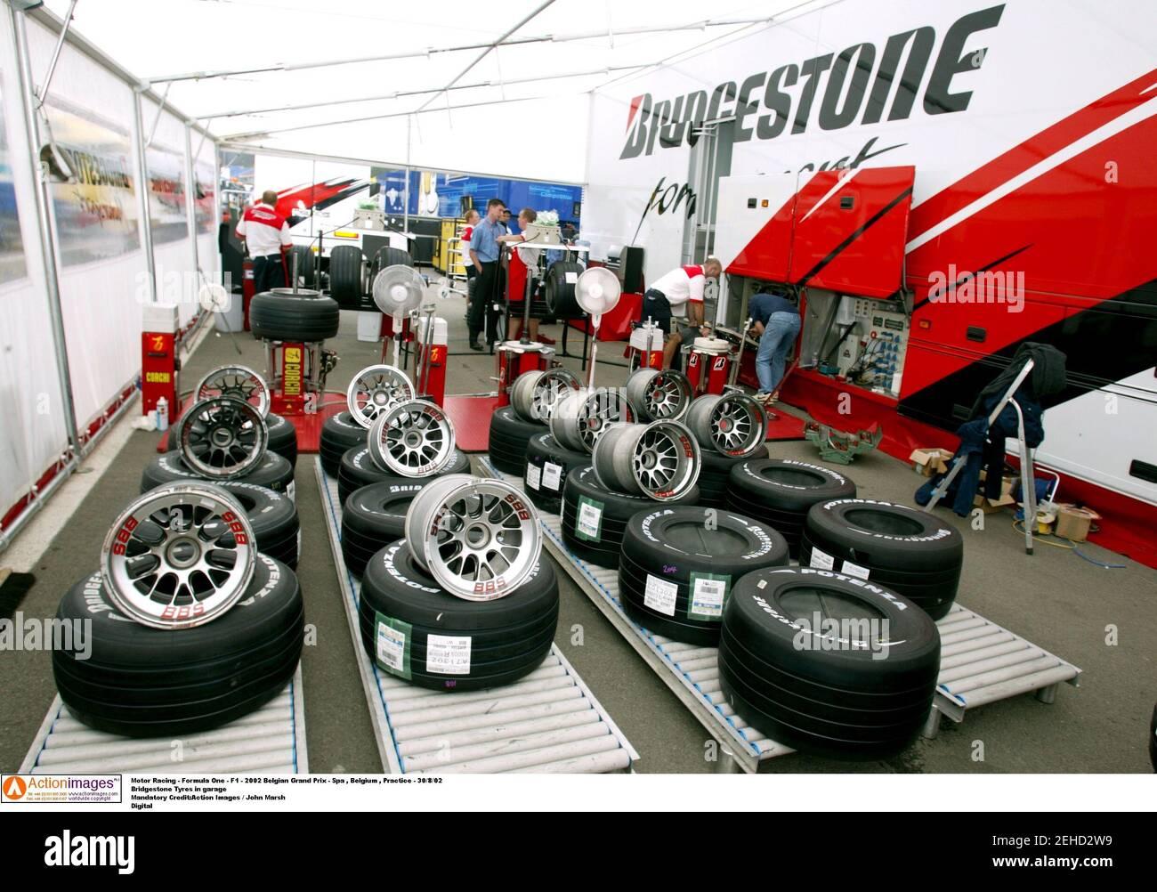 Bridgestone Tyres Motorsport Car Racing Sign Garage Workshop Banner Display