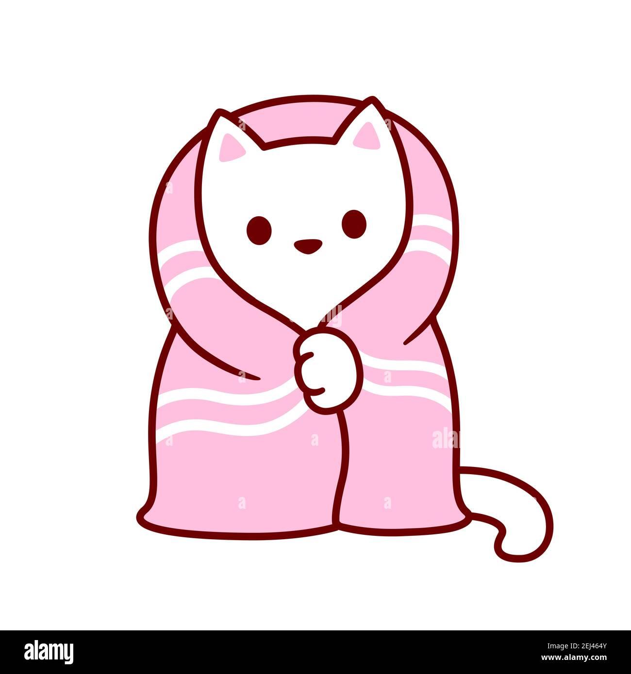 Kawaii Kitten Art High Resolution Stock Photography And Images Alamy