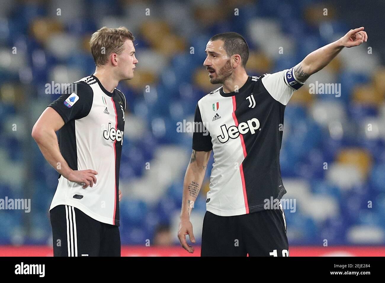 Matthijs De Ligt of Juventus and Leonardo Bonucci of Juventus ...