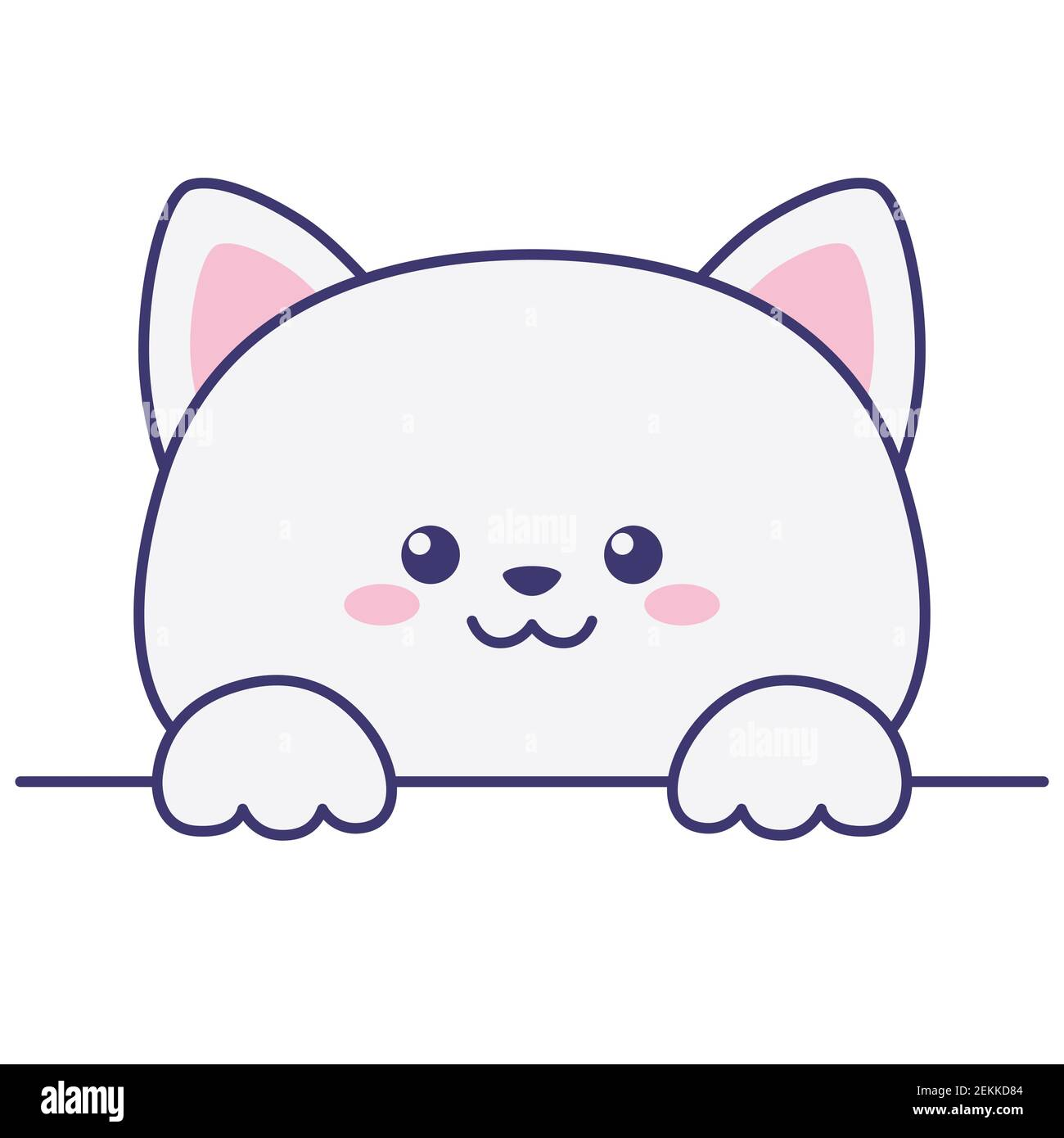 Page 2 Kawaii Kitten Art High Resolution Stock Photography And Images Alamy