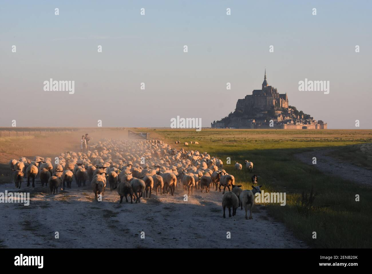 le mont saint michel, France Stock Photo