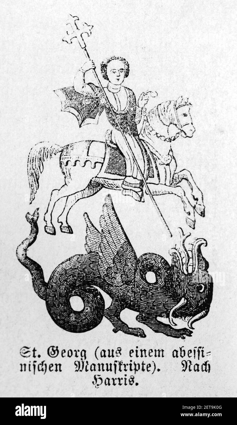 Kannon Riding a Dragon by Harada Naojiro Fantasy Made in U.S.A Prints