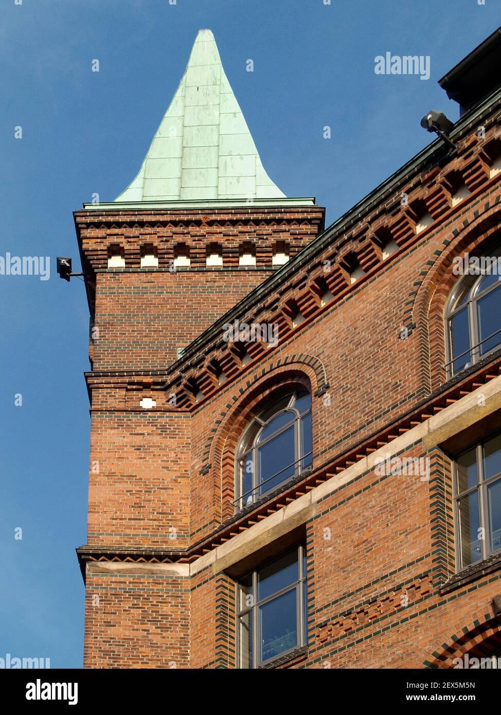Sandthorquaihof in Hamburg, Germany Stock Photo