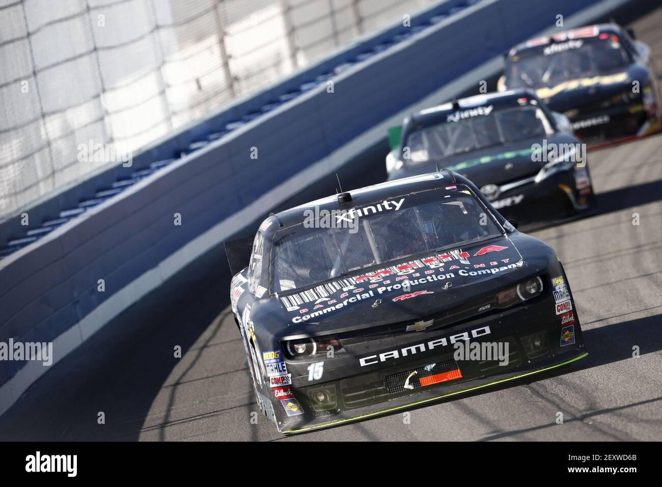 NASCAR:  Mar 21 Drive4Clots.com 300 Stock Photo