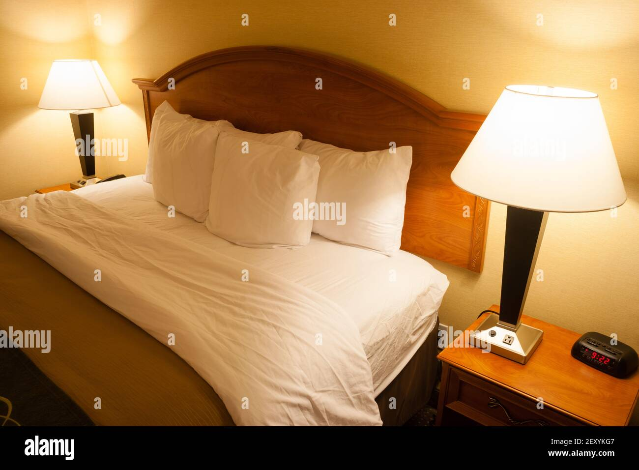 Bedside Lamps High Resolution Stock Photography And Images Alamy