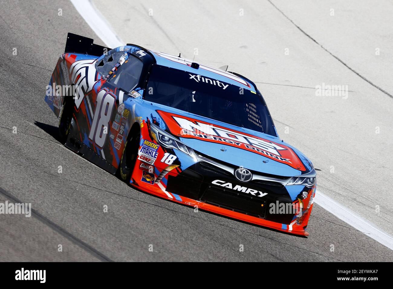 NASCAR:  Apr 07 O'Reilly Auto Parts 300 Stock Photo