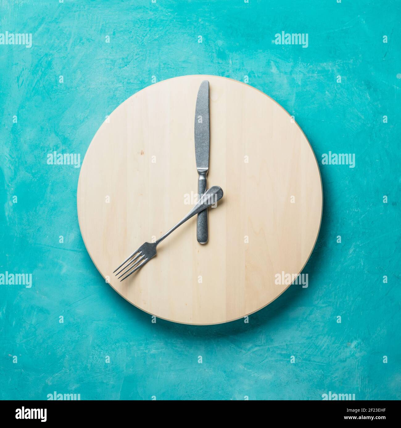 Intermittent fasting and skip breakfast concept Stock Photo