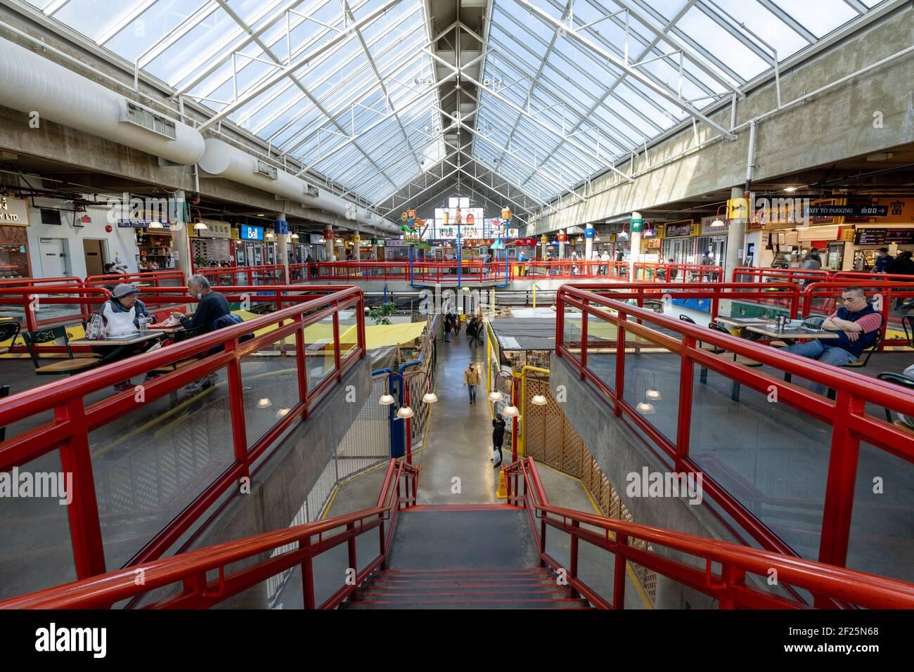 Richmond Public Market. Richmond, BC, CANADA Stock Photo