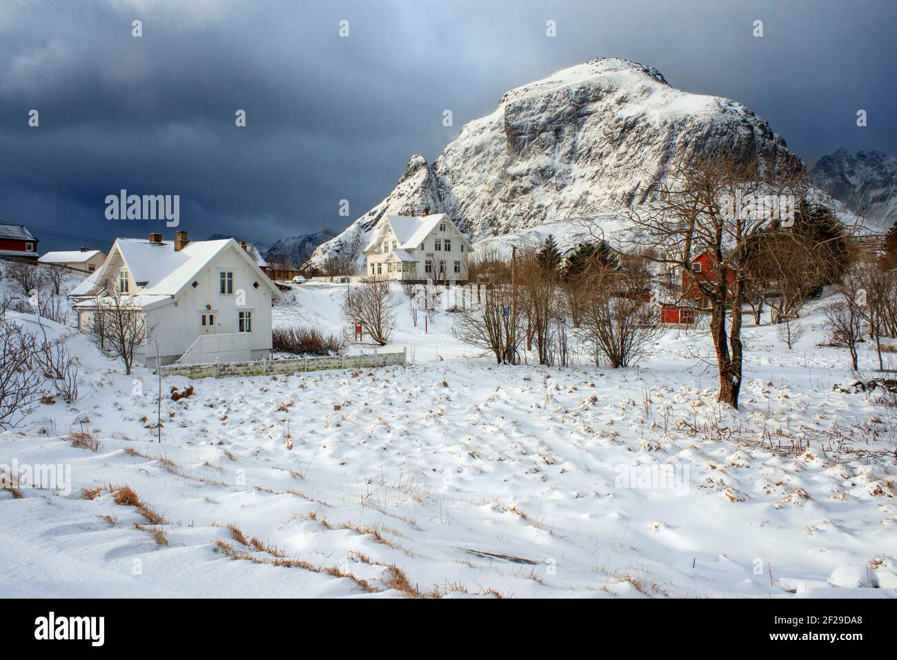 The Lofoten Torrfisk Museum In A Norway Stock Photo Alamy
