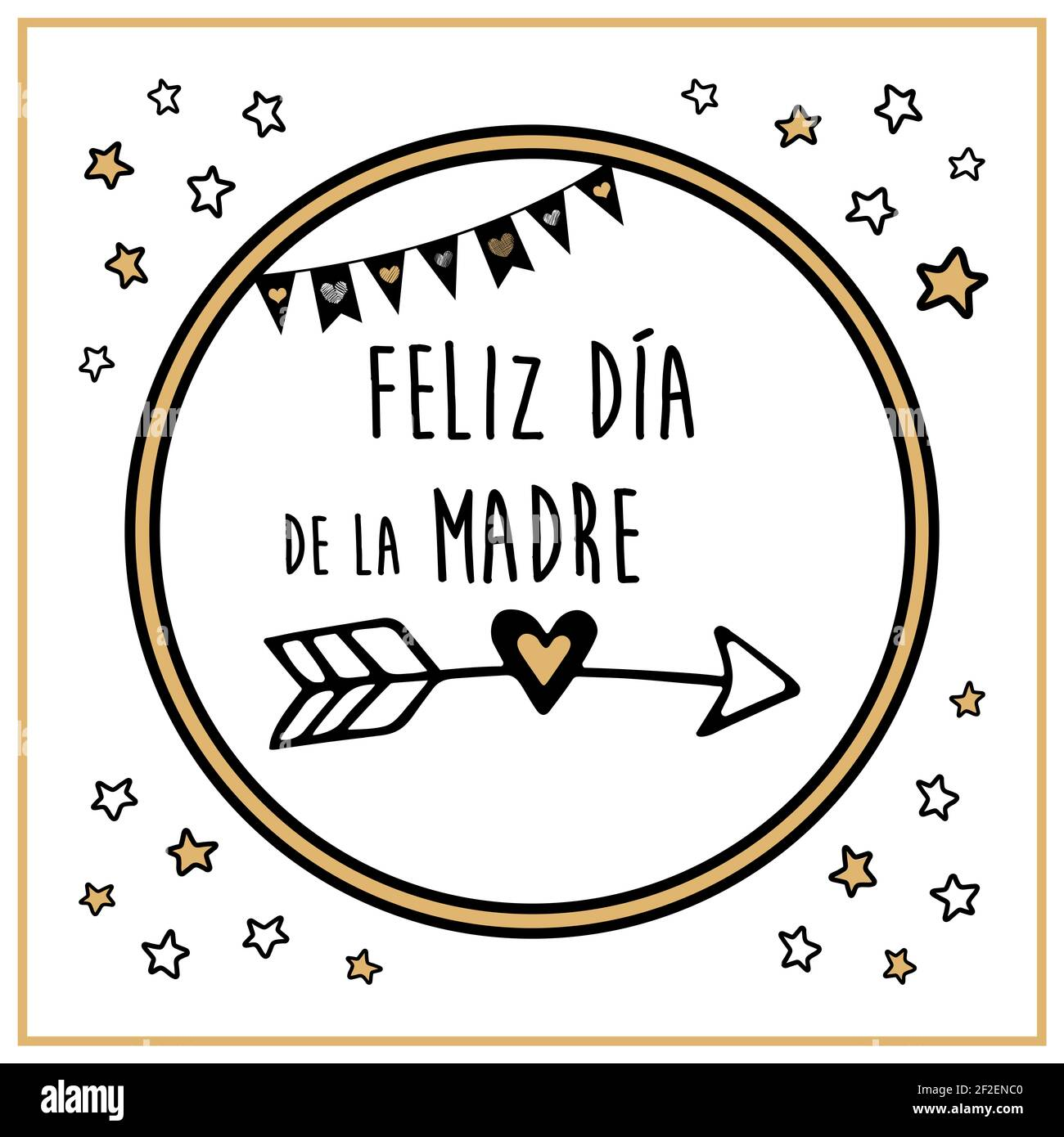 Mother's day poster made in Spanish. The most important person in ...
