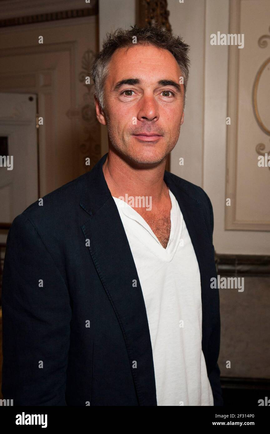 Greg Wiseattends the premiere of Benvenuto Cellini directed by Terry Gilliam at the London Coliseum, St Martin's Lane - London Stock Photo
