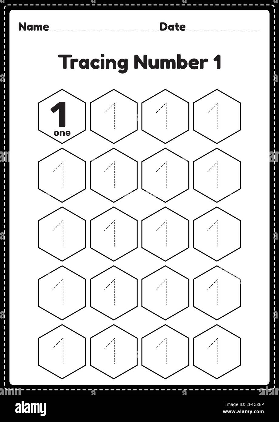 Tracing number 20 worksheet for kindergarten and preschool kids for ...
