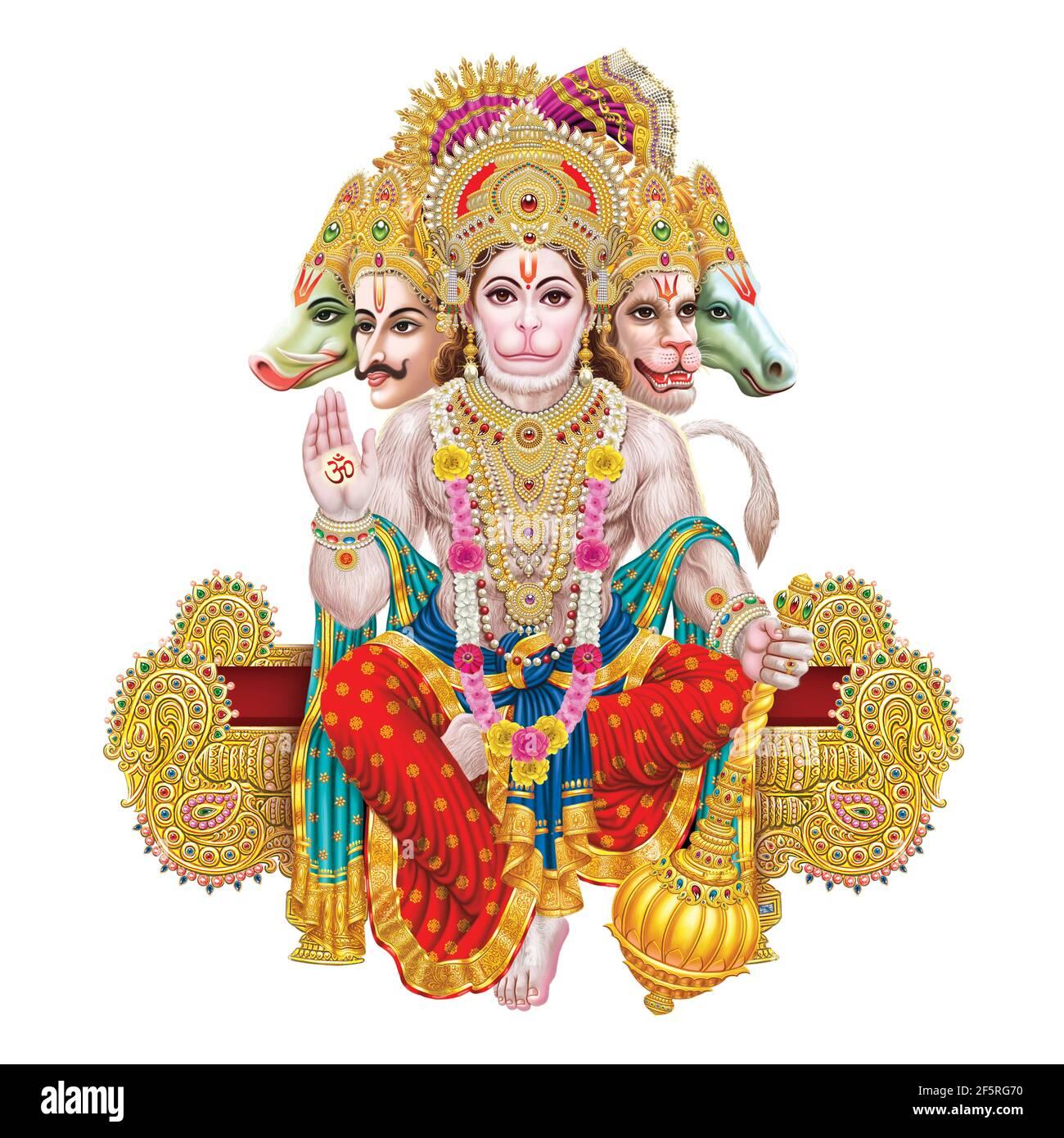 Hanuman High Resolution Stock Photography And Images Alamy