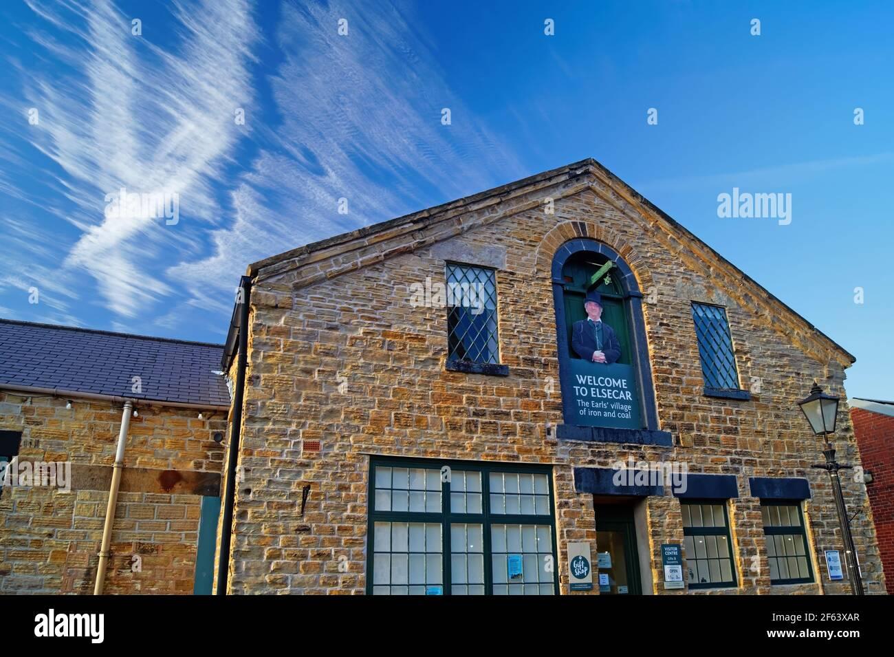 UK,South Yorkshire,Elsecar Heritage Centre Gift Shop Stock Photo