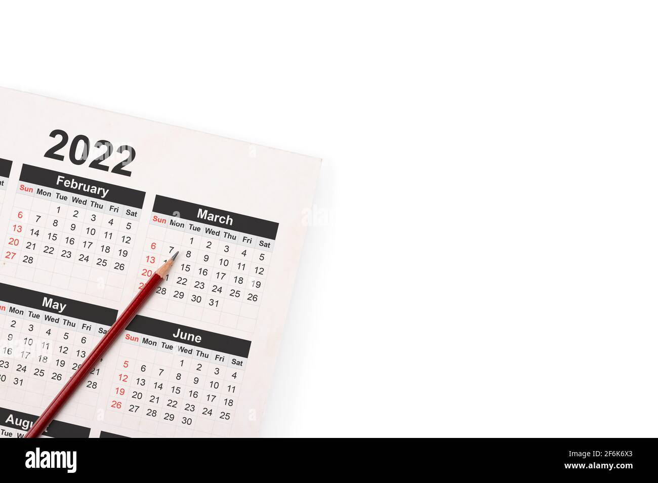 Appointment Calendar 2022.2022 Calendar High Resolution Stock Photography And Images Alamy