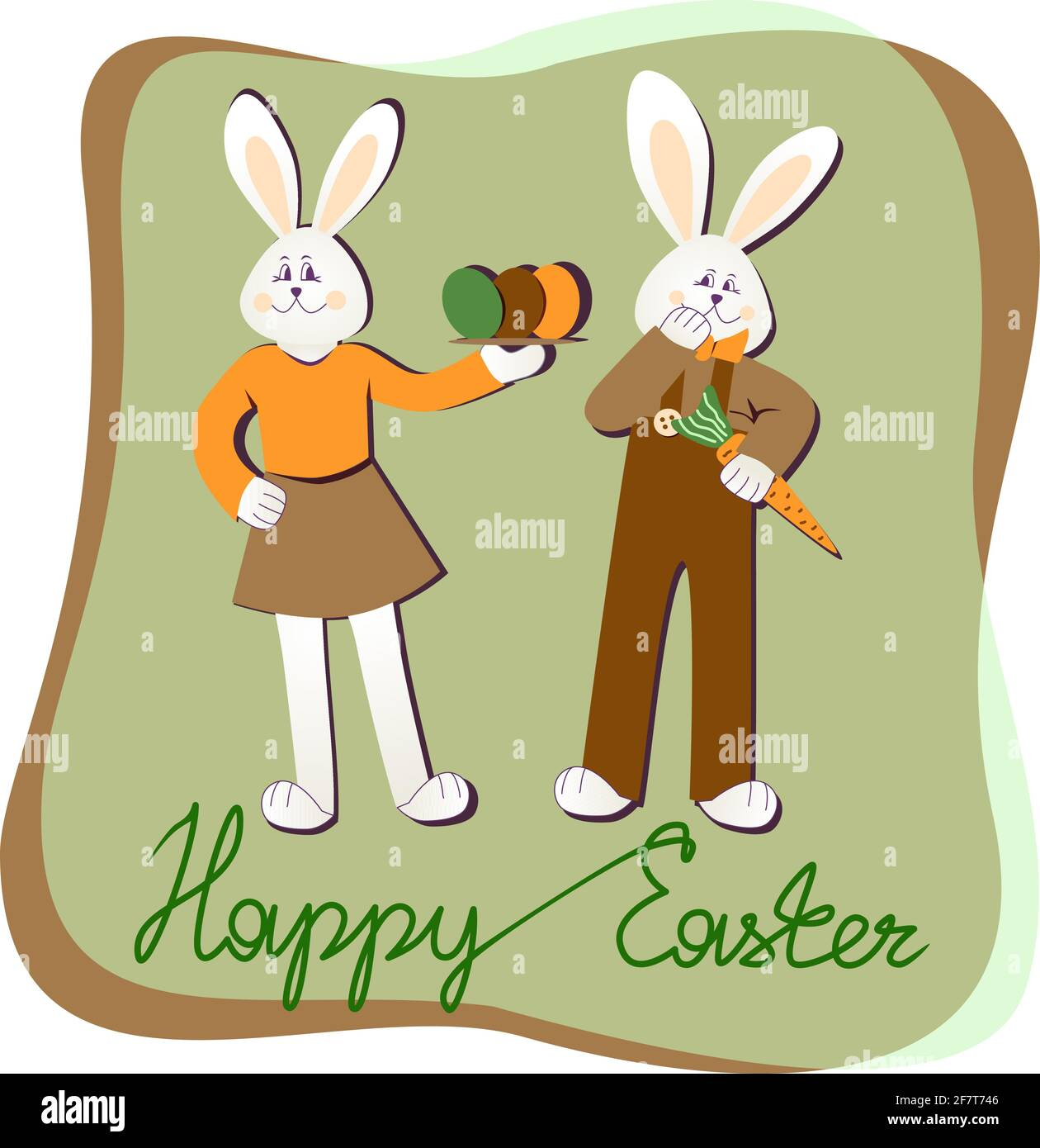 Easter Postcard High Resolution Stock Photography and Images   Alamy