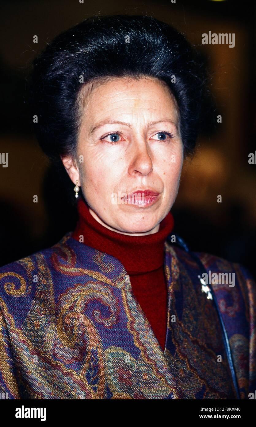 Anne, Princess Royal Stock Photo