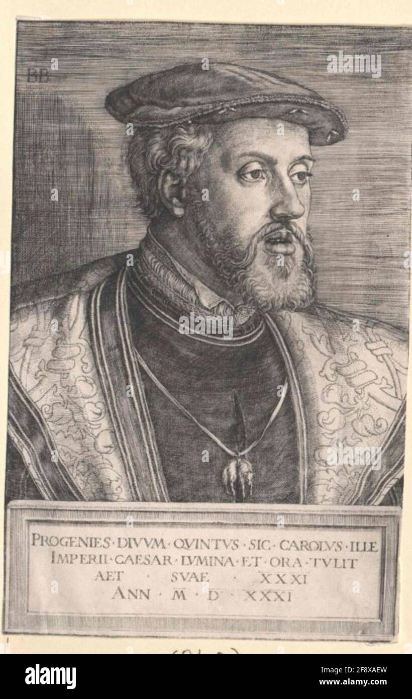 im Harnisch Bildnis in halber Figur Tizian Tiziano Vecellio Kaiser Karl V