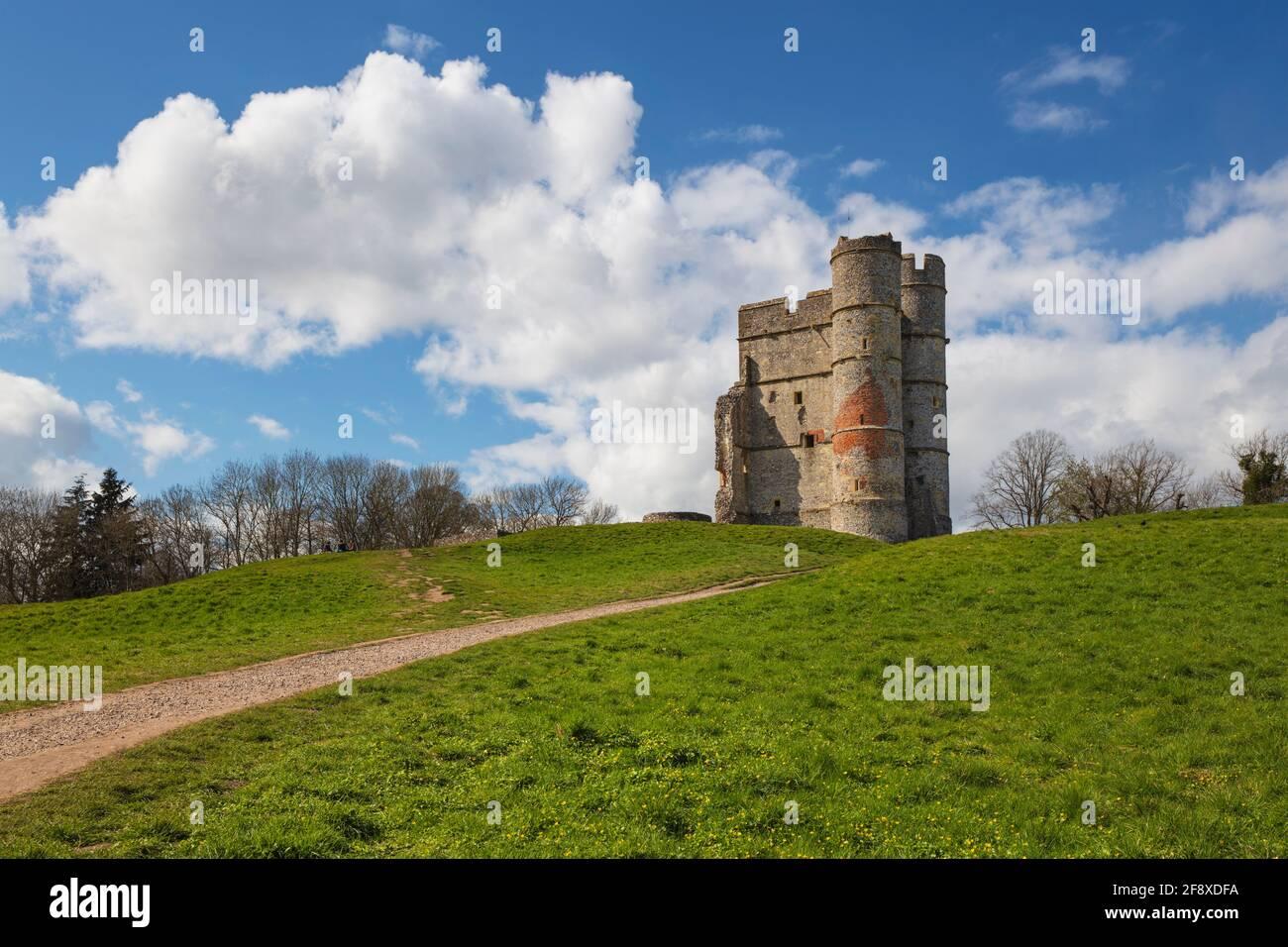 Donnington Castle, Newbury, Berkshire, England, United Kingdom, Europe Stock Photo