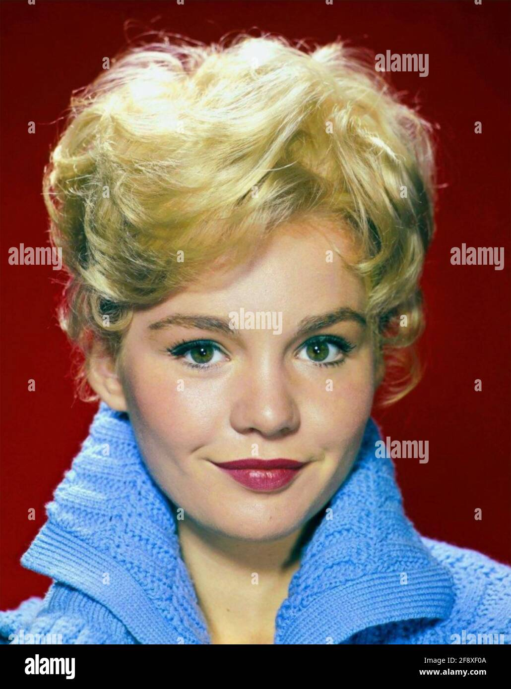 TUESDAY WELD American film actress about 1960 Stock Photo