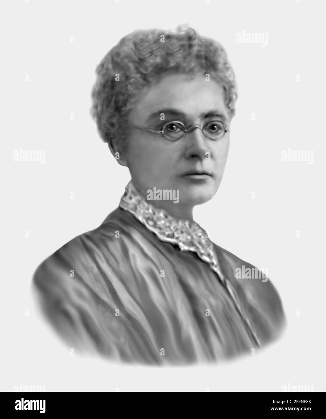 Emily Howard Stowe 1831-1903 First Female Physician to Practise in Canada Stock Photo