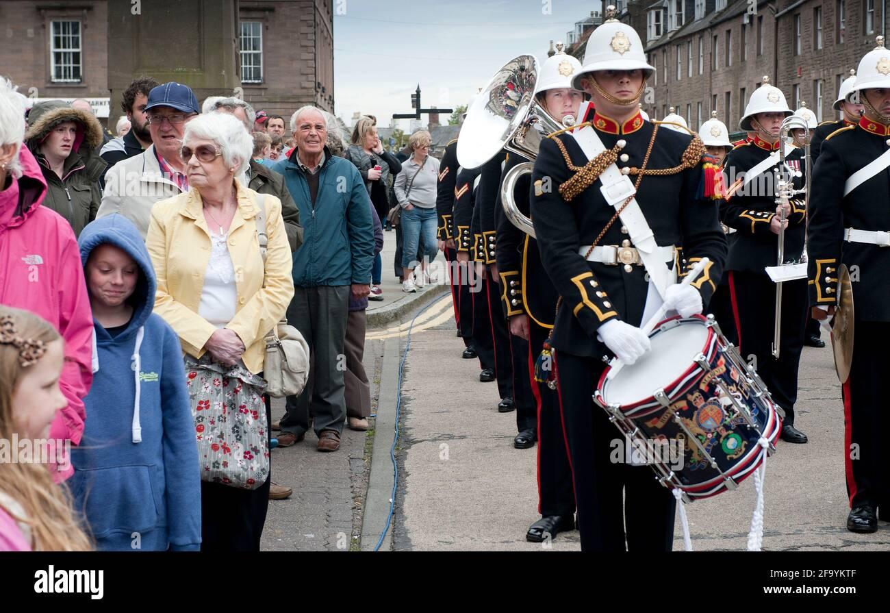 Band of the Royal Marines Stock Photo