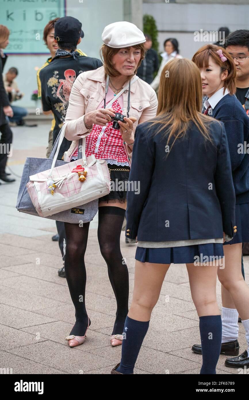 Japan crossdresser Crossdresser Story