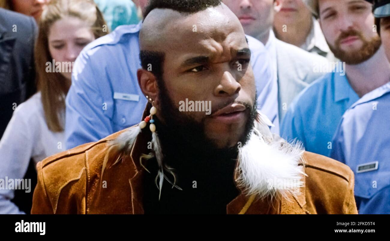 USA. Mr. T  in a scene from (C) MGM/UA film: Rocky III (1982). Plot: After winning the ultimate title and being the world champion, Rocky falls into a hole and finds himself picked up by a former enemy.   Ref: LMK110-J7064-290421 Supplied by LMKMEDIA. Editorial Only. Landmark Media is not the copyright owner of these Film or TV stills but provides a service only for recognised Media outlets. pictures@lmkmedia.com Stock Photo