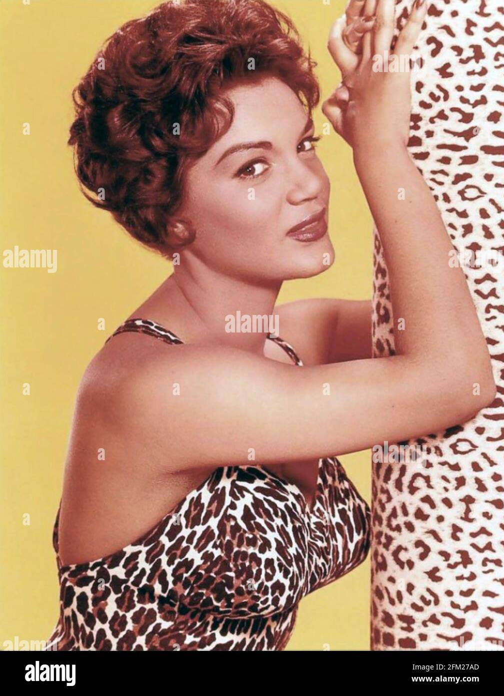 CONNIE FRANCIS American singer and film actress about 1965 Stock Photo