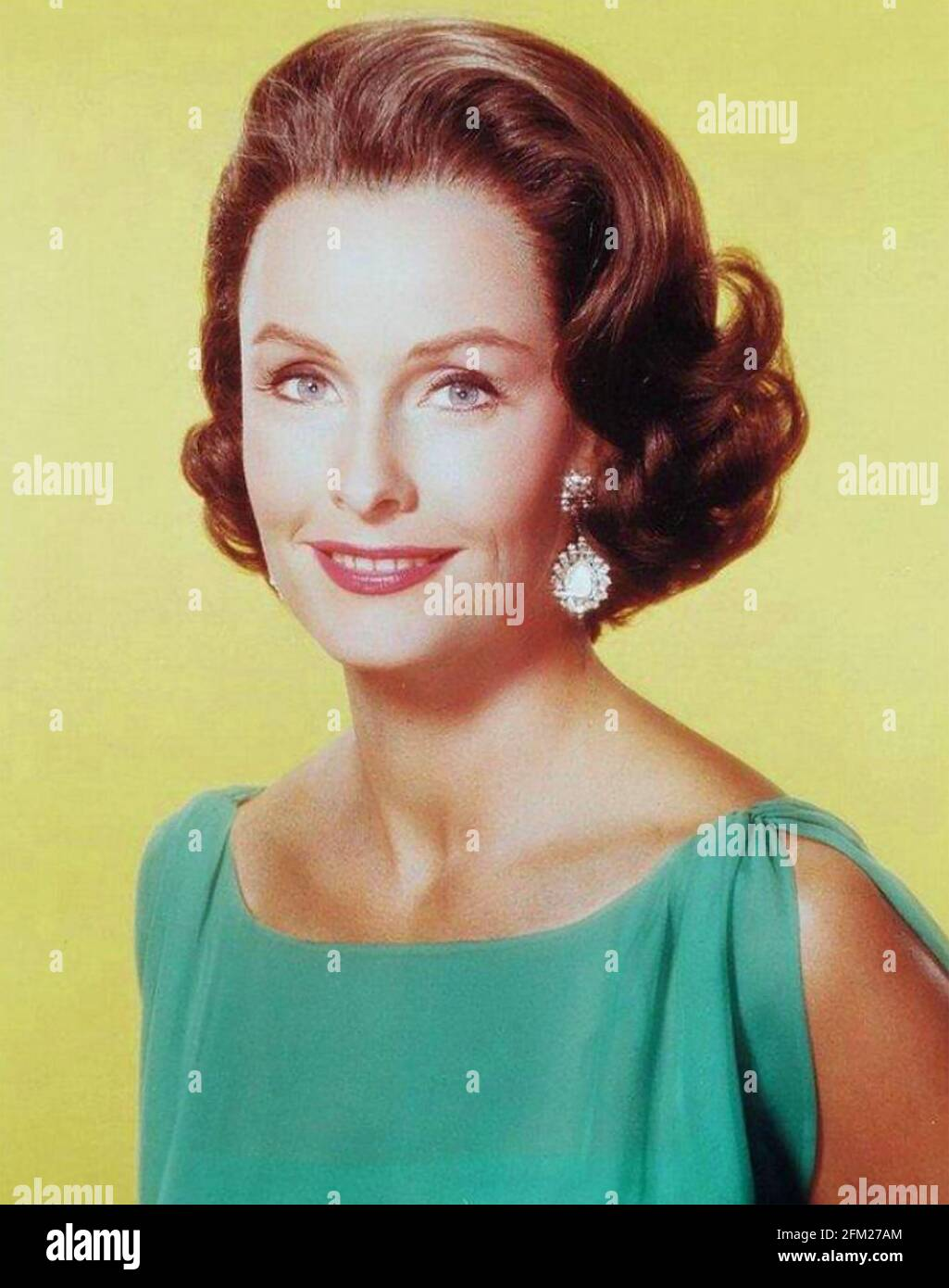 DINA MERRILL (1923-2017) American film actress and businesswoman about 1970 Stock Photo
