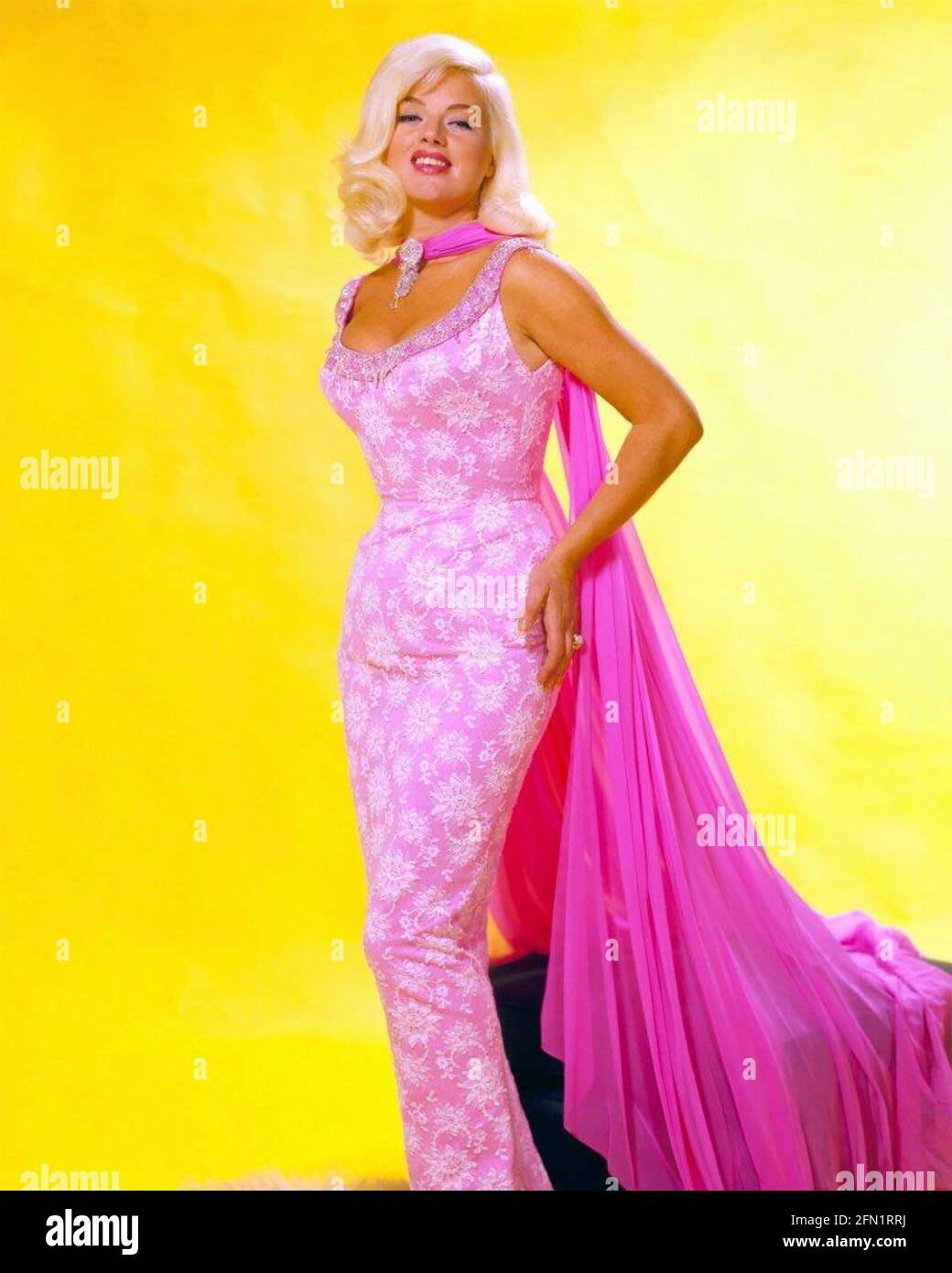 DIANA DORS (1931-1984) English fiom and TV actress about 1965 Stock Photo