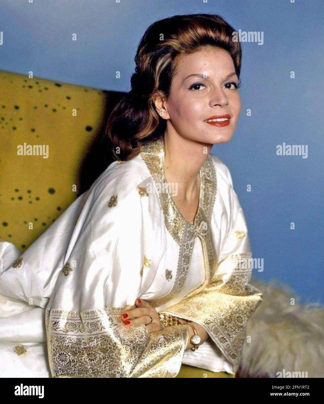 EVA BARTOK (1927-1998) Anglo-Hungarian film actress about 1960 Stock Photo
