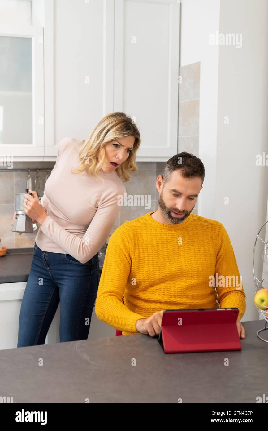 At home wife cheating husband I cheated
